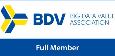 Logo de BDVA Full member