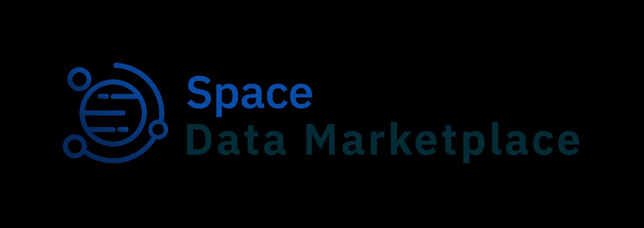 Logo blanc space data marketplace